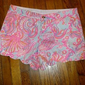 Lilly Pulitzer Butter Cup Shorts